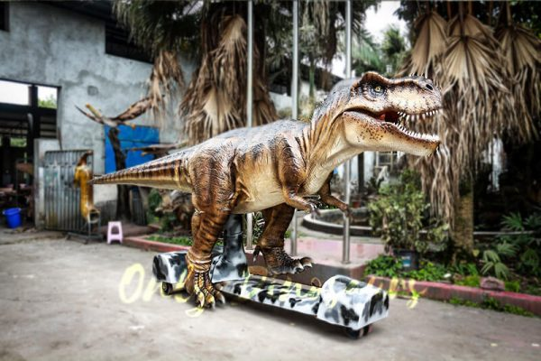 Stage Show Animatronic Walking Dinosaur T Rex1 1