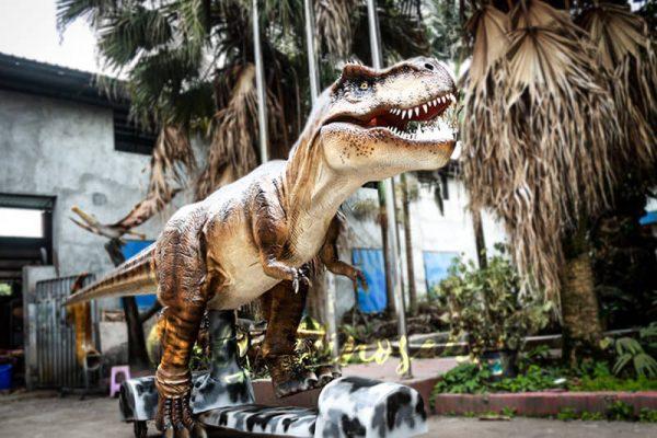 Stage Show Animatronic Walking Dinosaur T Rex2 1
