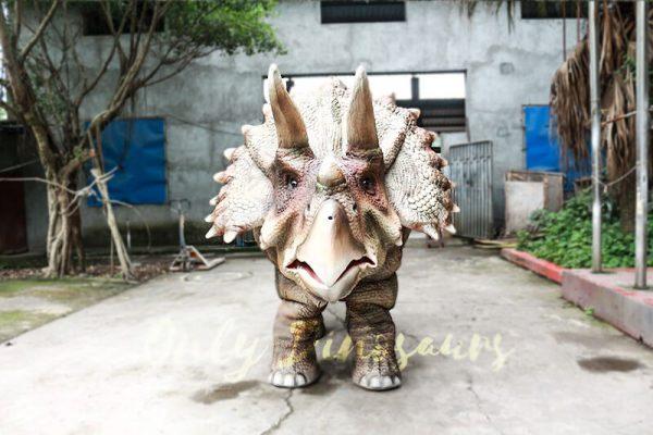 Theme Park Triceratops Dinosaur Suits3 1