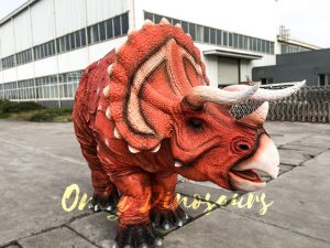 Lifelike Triceratops Costume For Two Adults