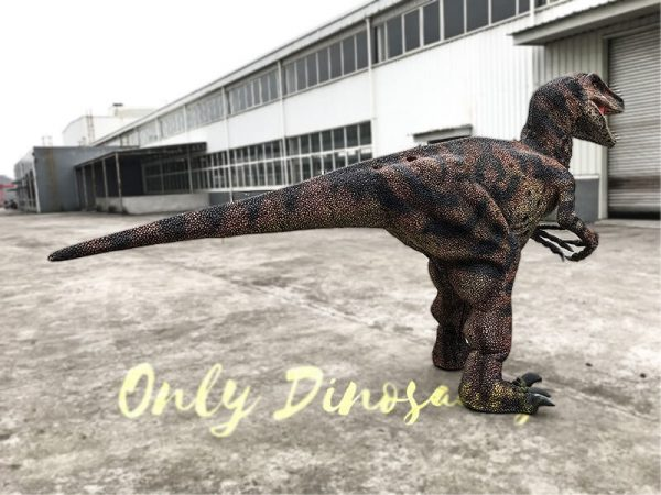 Velociraptor Costume with lifelike Eyes2 1