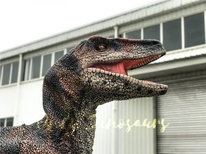 Velociraptor Costume with lifelike Eyes