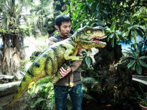 Vivid Handmade Dinosaur Puppet for Best Party