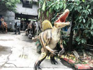 Vivid Spinosaurus Dinosaur Costume Men Suit