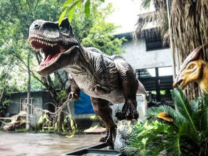 6M Tyrannosaurus Rex Animatronic Model for Amuseum Park