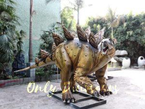 Adult Dinosaur Animatronic Stegosaurus for Park