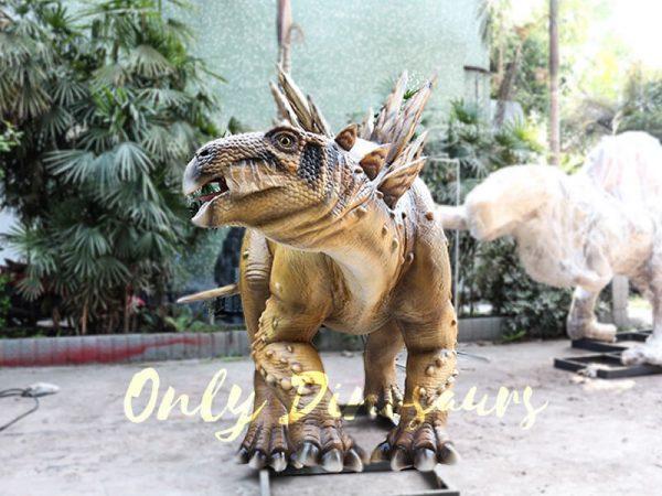 Adult Dinosaur Animatronic Stegosaurus for Park2
