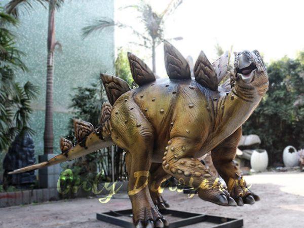 Adult Dinosaur Animatronic Stegosaurus for Park4
