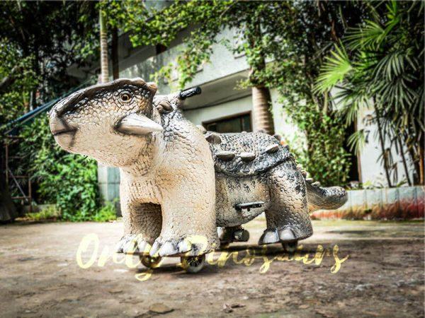 Amusement Ankylosaur Dinosaur Rider for Kiddy3