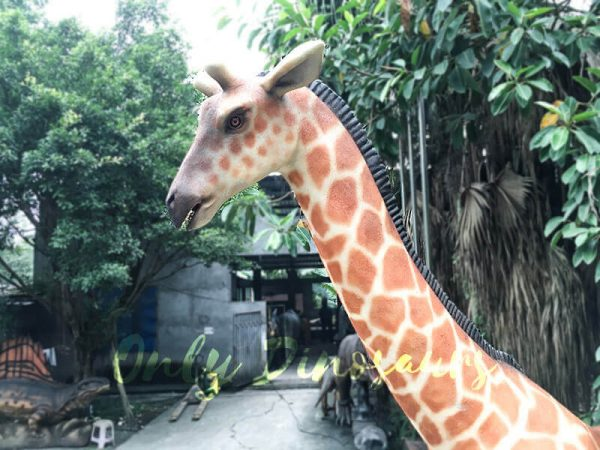 Amusement Park Animatronic Giraffe for sale1