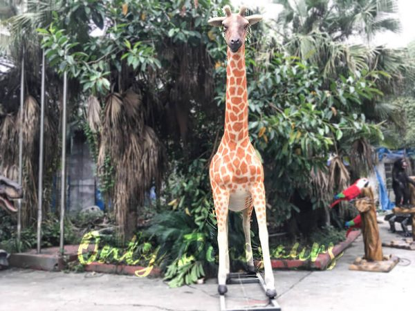 Amusement Park Animatronic Giraffe for sale3