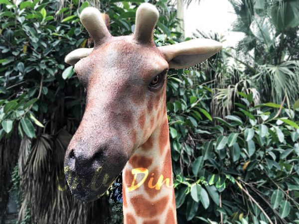 Amusement Park Animatronic Giraffe for sale4