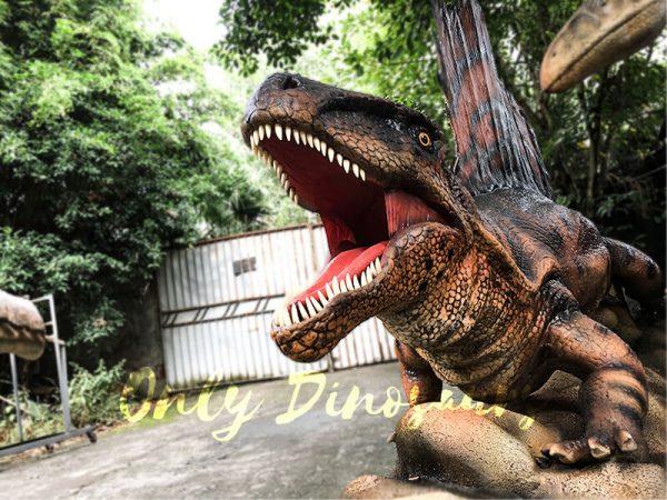 Animatronic Characters Dimetrodon for Exhibiton2