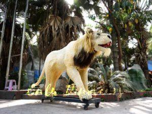 Animatronic Lion for Theme Park