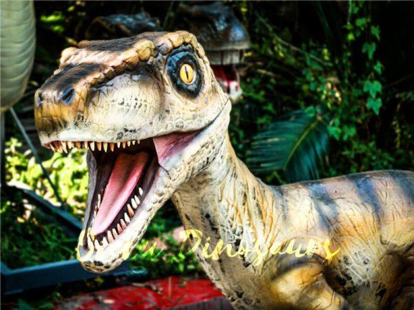 Animatronic Movies Robot Raptor Lifelike Model1