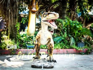 Animatronic Movies Robot Raptor Lifelike Model