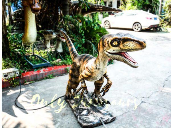 Animatronic Movies Robot Raptor Lifelike Model4
