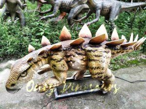 Animatronic Young Stegosaurus Props for Garden