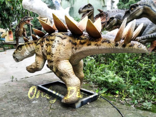 Animatronic Young Stegosaurus Props for Garden7