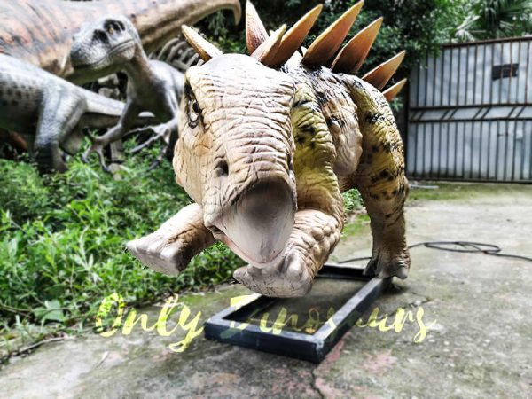 Animatronic Young Stegosaurus Props for Garden8