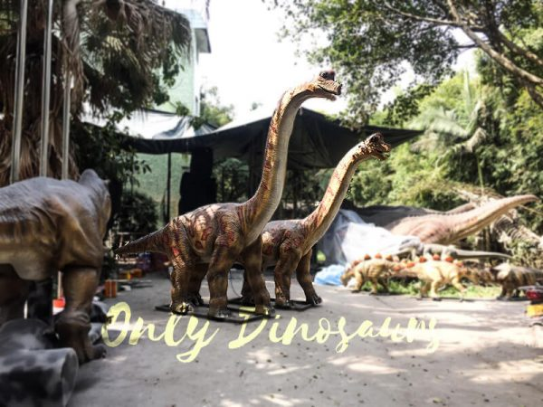 Animatronics Brachiosaurus in Group for sale2