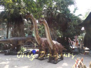 Cute Animatronics Brachiosaurus in Group for Sale