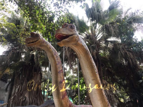 Animatronics Brachiosaurus in Group for sale4