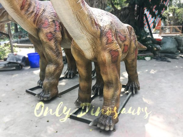 Animatronics Brachiosaurus in Group for sale5