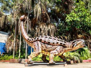 Animatronic Monster Ankylosaur for Dinosaur Theme