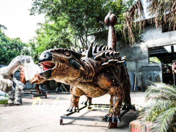 Animatronics Monster Ankylosaur for Dinosaur Theme4