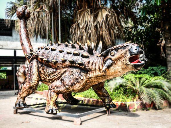 Animatronics Monster Ankylosaur for Dinosaur Theme6