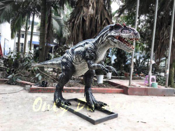 Black Dinosaur Animatronic Allosaurus Prop2