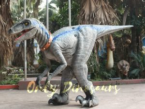 Blue Raptor Suit in Jurassic World