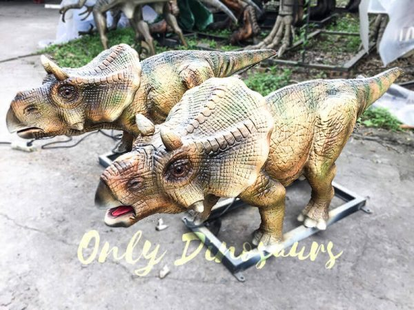Christmas Animatronics Triceratops Babies for sale1