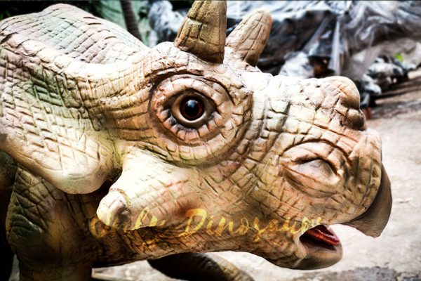 Christmas Animatronics Triceratops Babies for sale3