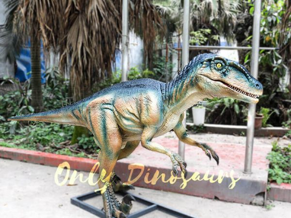 Colorful Animatronic Robot Raptor for sale4