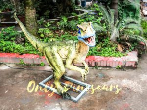 Custom Animatronic Raptor in Green