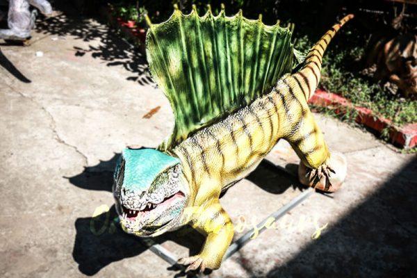 Custom Colorful Animal Animatronics Dimetrodon1