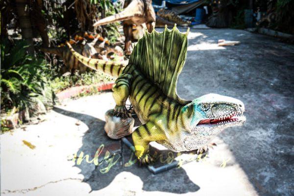 Custom Colorful Animal Animatronics Dimetrodon2
