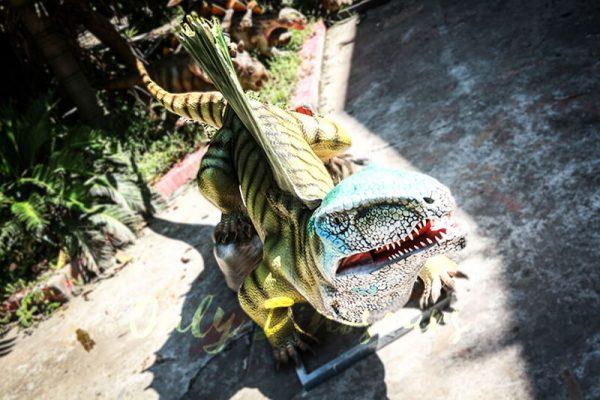 Custom Colorful Animal Animatronics Dimetrodon3