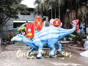 Custom Fiberglass Dinosaur Cartoon Stegosaurus