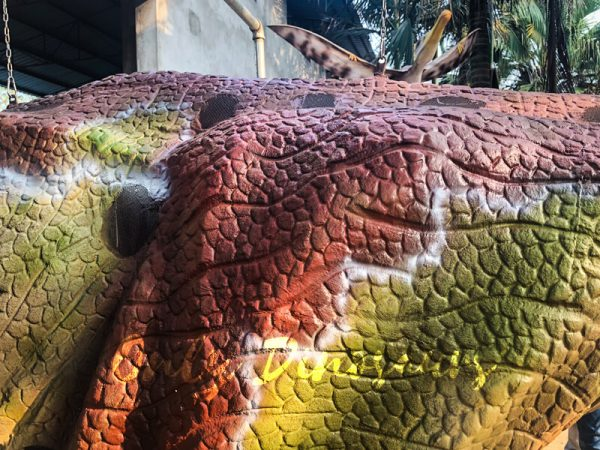 Customized-Velociraptor-Costume-Red-Green444