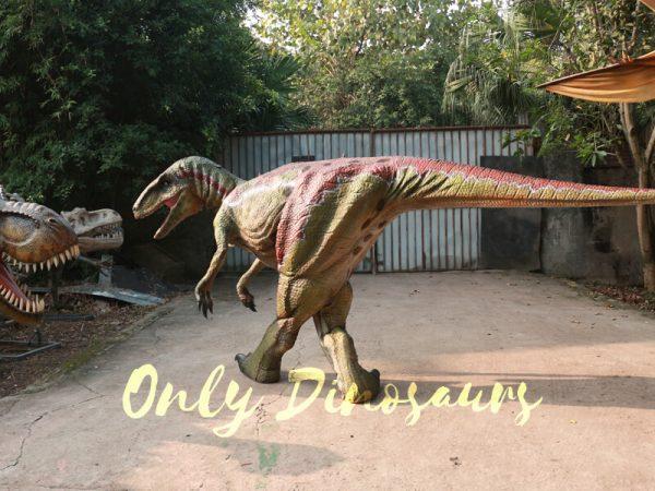 Customized-Velociraptor-Costume-Red-Green666