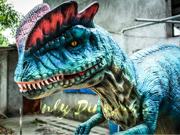 Dilophosaurus Costume for Trade Show Attractions1