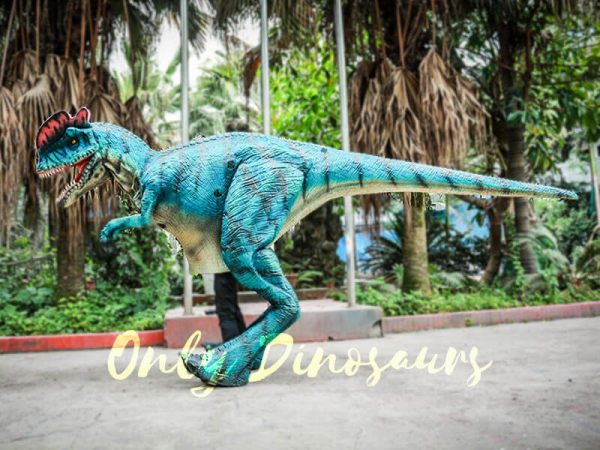 Dilophosaurus Costume for Trade Show Attractions2