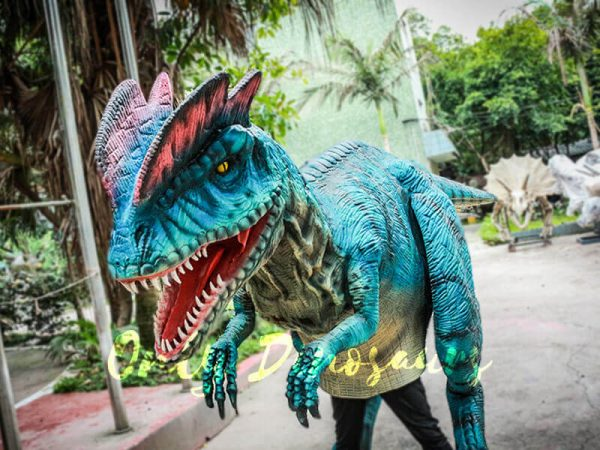 Dilophosaurus Costume for Trade Show Attractions3