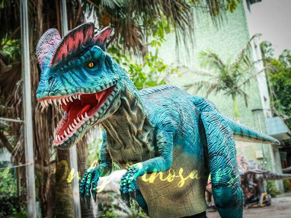 Dilophosaurus Costume for Trade Show Attractions4