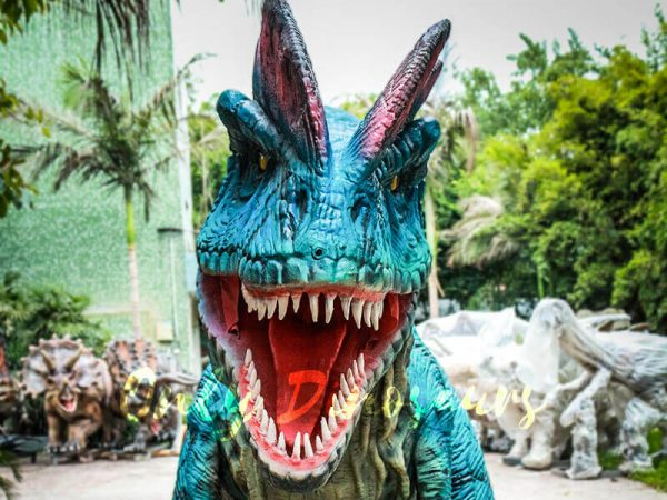 Dilophosaurus Costume for Trade Show Attractions5
