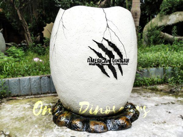 Dinosaur Eggshell Fiberglass Statues for sale1