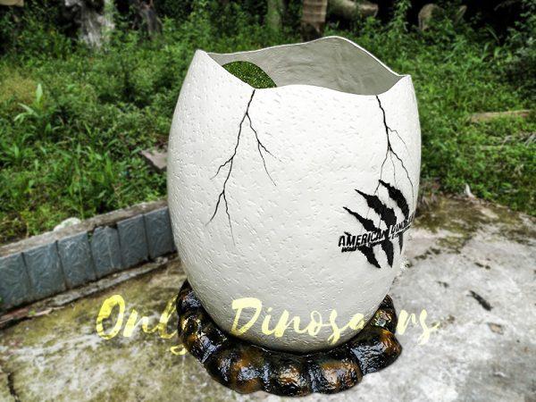 Dinosaur Eggshell Fiberglass Statues for sale2